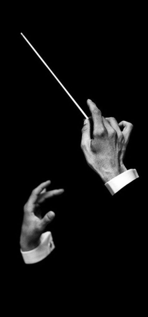 Hands of Music Conductor